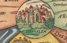 Jeruzalem kaart 1581
