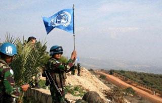 Unifilsoldaten Zuid-Libanon