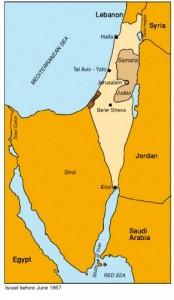1967 Israel voor Zesdaagse Oorlog