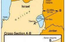 1967 Golanhoogte voor Zesdaagse Oorlog
