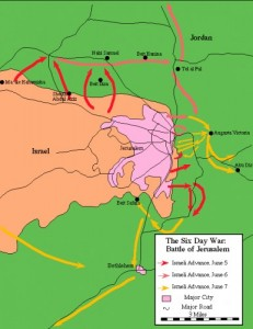1967 Slag om Jeruzalem