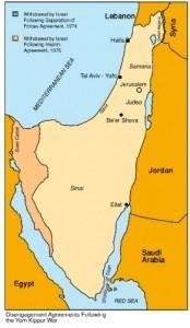 1973-2002 Israel en Egypte oer