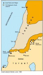 1982 Grens met Libanon