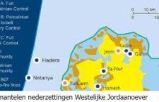 2002 e.v. Te ontruimen nederzettingen