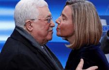 EU-Hoge Vertegenwoordiger Mogherini spreekt Abbas niet aan op antisemitische toespraak
