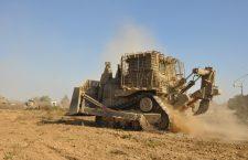 Aanslag op Israelische bulldozer beantwoord met beschietingen van Hamasposities