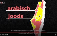 NOS blundert met video over ontstaan van Israel