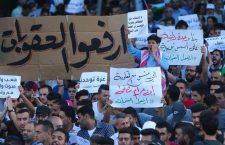 Palestijnen protesteren tegen PA-sancties tegen de Gazastrook