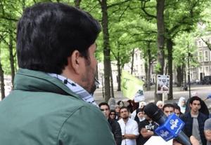 Grapperhaus: Hezbollah-vlag bij demonstratie is strafbaar, echter geen aanhoudingen
