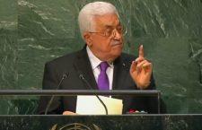 Abbas geeft iedereen de schuld behalve zichzelf