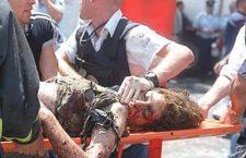 Een slachtoffer van de aanslag op Sbarro Pizza in 2001. De daders kregen tonnen van de Palestijnse Autoriteit. Bron: CNN