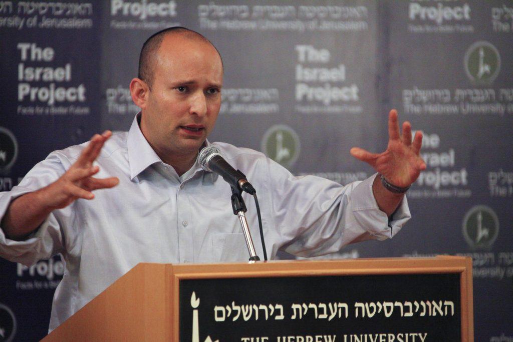 Naftali Bennett accepteert de uitslag niet