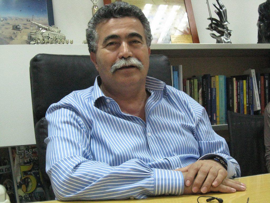 Arbeid-voorman Amir Peretz