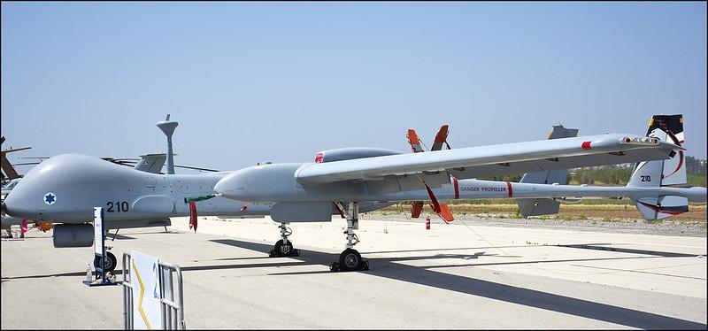 Drone van de Israelische luchtmacht