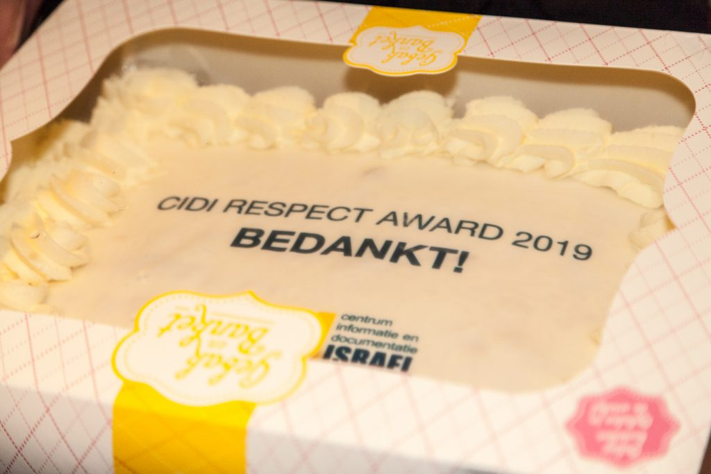 taart respect award