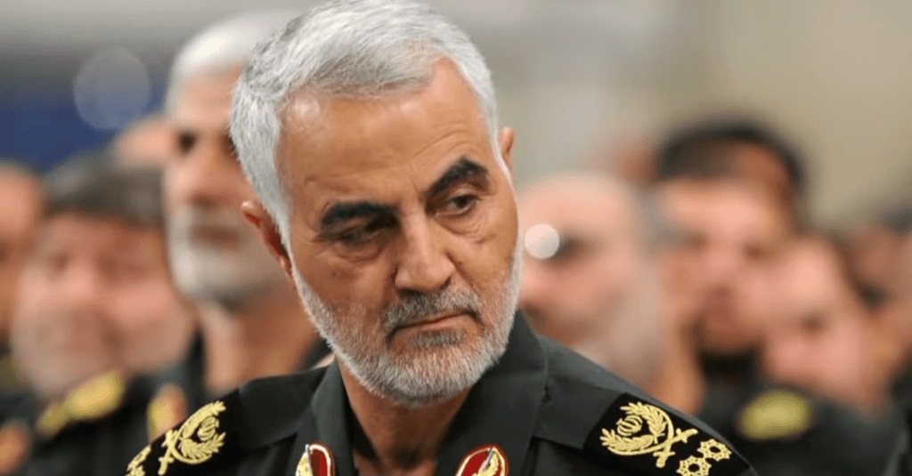 Soleimani commandant Revolutionaire Garde