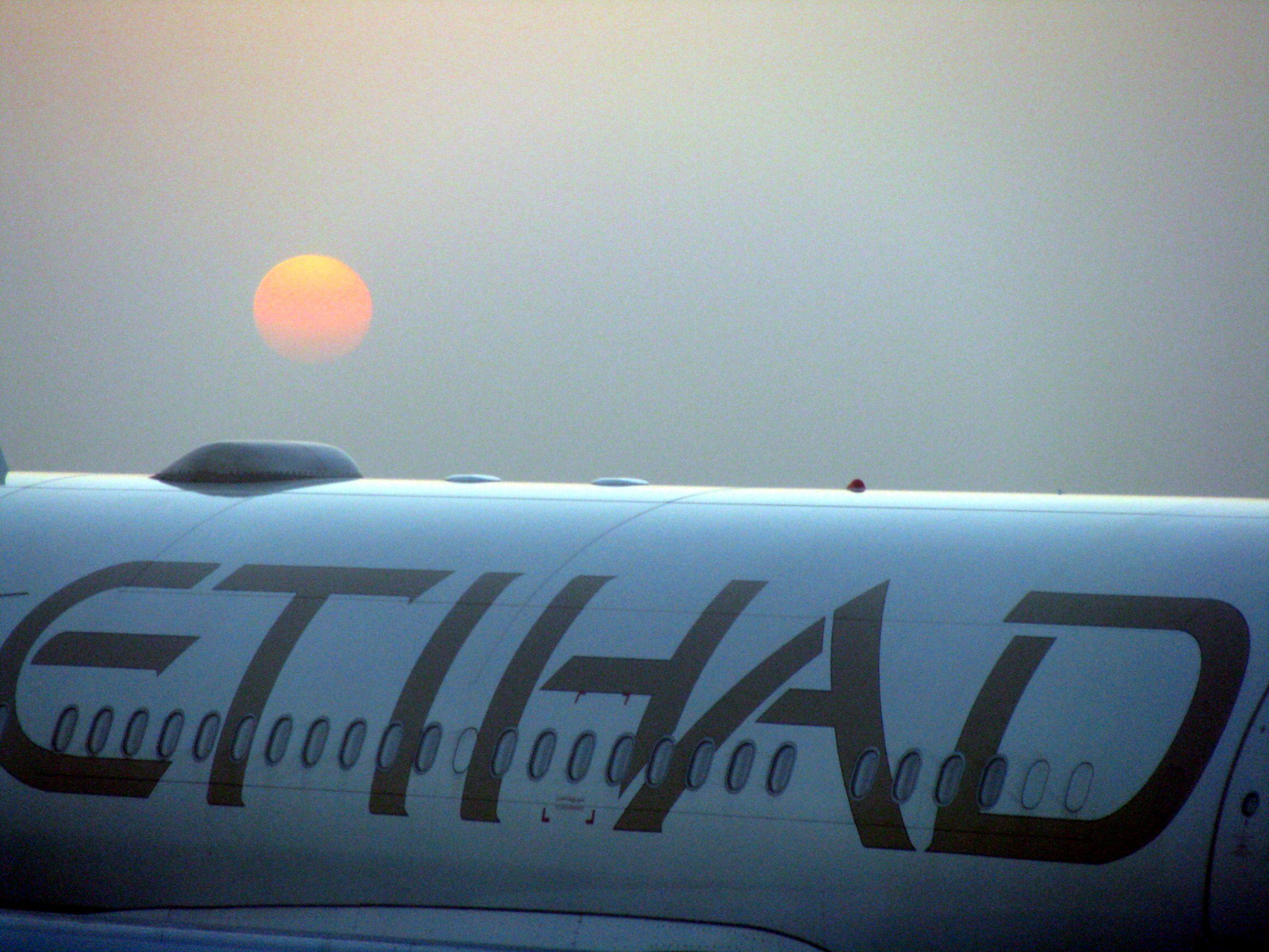 Een Etihad-vliegtuig (foto: Hasan Basri Akirmak)