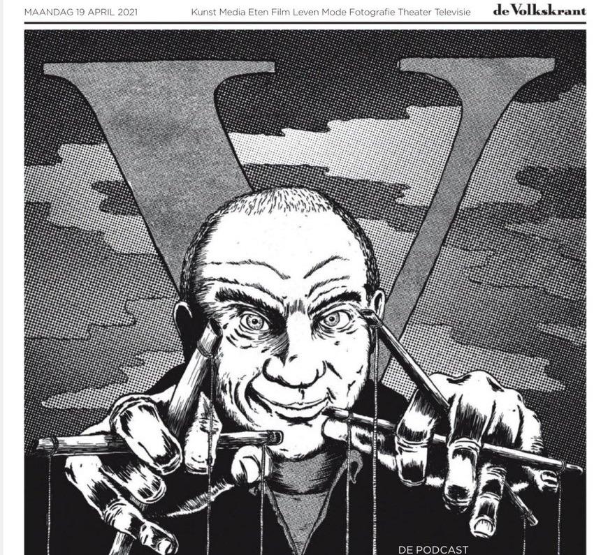 antisemitische cartoon Volkskrant