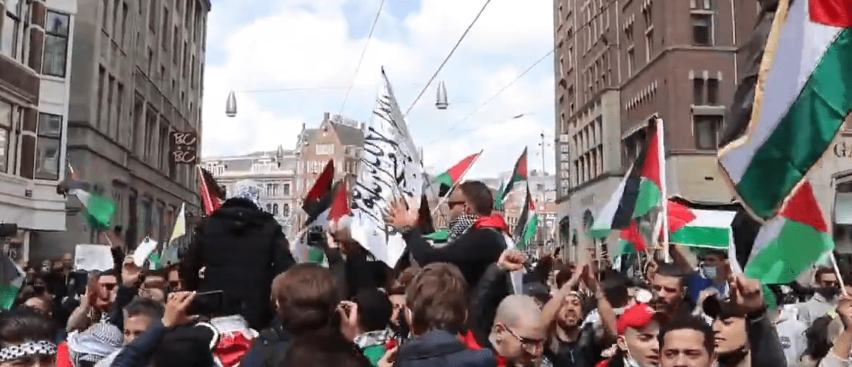 extremistische uitingen demo