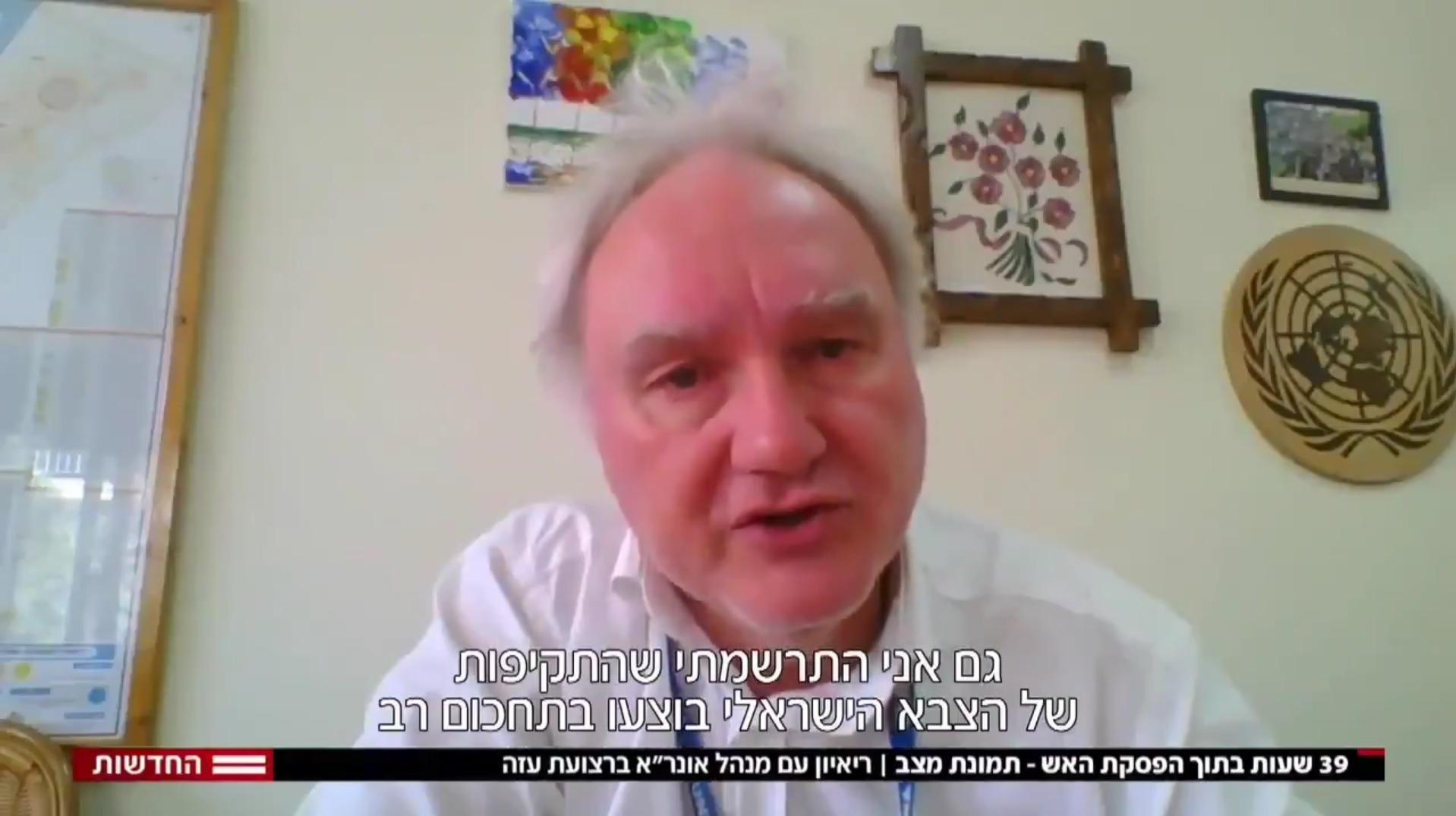 UNRWA-directeur Schmale