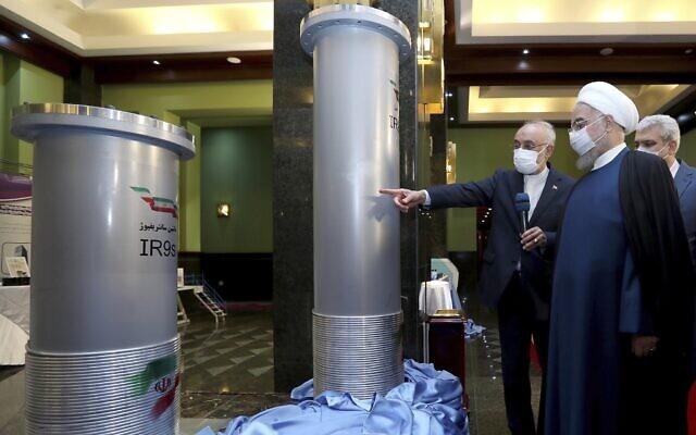 centrifuge verrijking uranium Iran