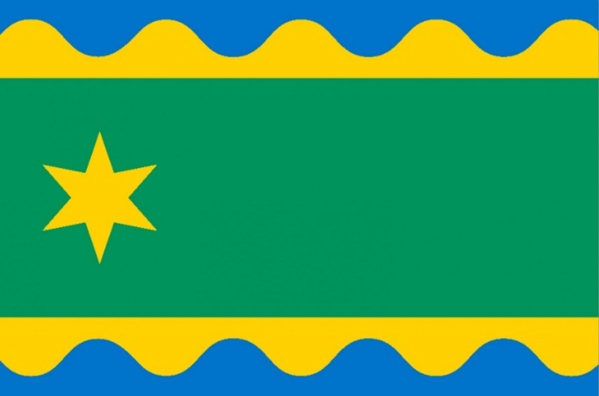 nieuwe gemeentevlag gemeente noardeast fryslan