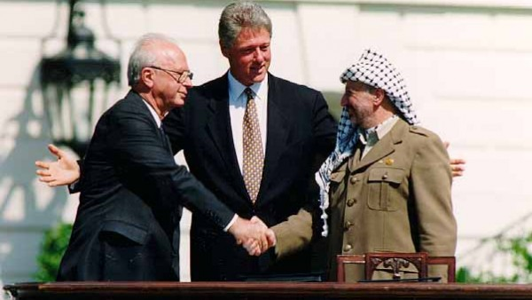 Vandaag 25 jaar geleden: de Oslo-akkoorden