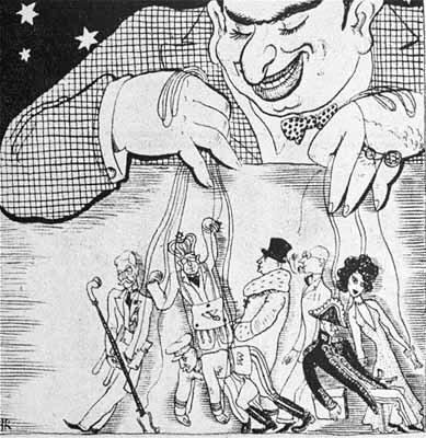 Karikatuur, Nazi-Duitsland