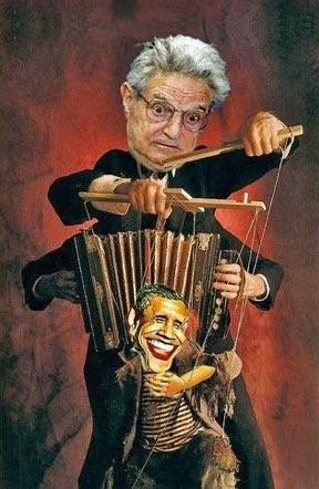Karikatuur van Soros, 2